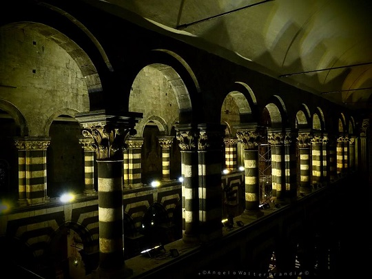 23 agosto: Cattedrale Segreta by night