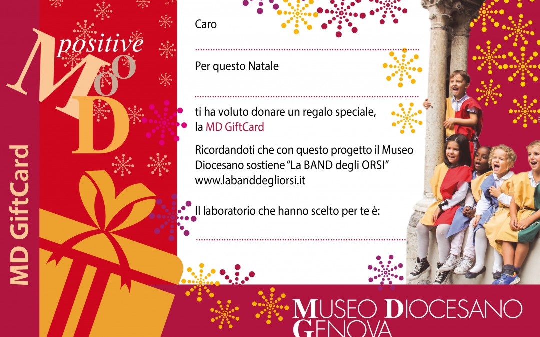 "Idee regalo al MD: Gift-card ""Laboratori al MD"""